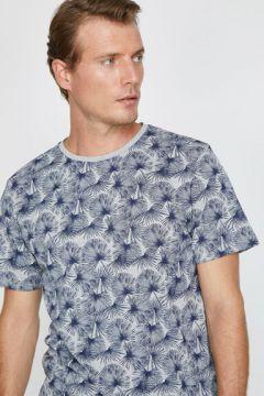 Koton Erkek Desenli T-Shirt(124916994)
