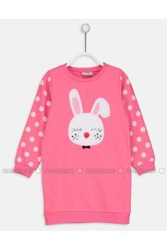 Pink - Printed - Age 8-12 Dress - LC WAIKIKI(110341839)