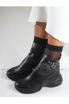 Black - Boot - Boots - İnan Ayakkabı(110336854)