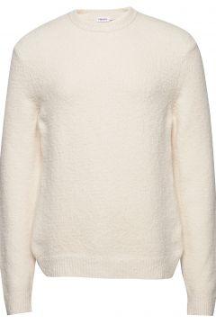 M. Matthew Sweater Strickpullover Rundhals Creme FILIPPA K(115535106)
