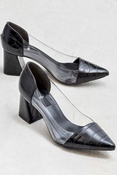 Elle Shoes CATORI Siyah Kadın Topuklu Ayakkabı(121272744)