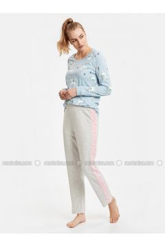Gray - Pyjama - LC WAIKIKI(110334569)