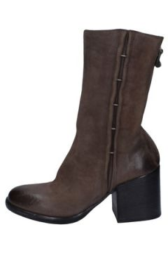 Boots Moma bottines gris cuir BY941(115401725)