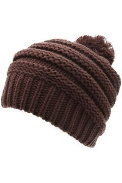 Bonnet Herman 1874 Bonnet pompon femme Lady marron(88689756)