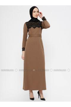 Minc - Crew neck - Unlined - Dresses - MEKSİLA(110321782)