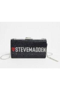 Steve Madden - luvsm - Pochette nera decorata-Nero(120438977)