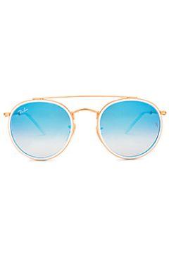 Солнцезащитные очки round double bridge - Ray-Ban(118966240)