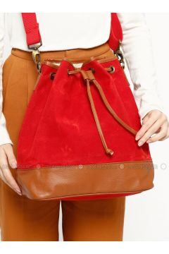 Red - Shoulder Bags - Ottobags(110318554)