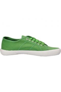 Baskets Everlast sneakers vert toile AF717(88469412)