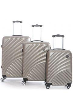 Valise Geographical Norway Set de 3 bagages en ABS SANTONI(115499018)