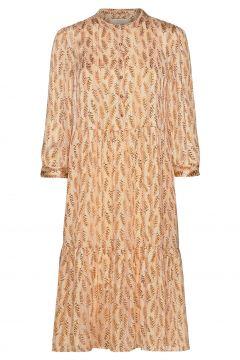 Naja Dress Kleid Knielang Orange LOLLYS LAUNDRY(119870724)