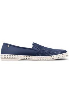Chaussures Rivieras Bleu de travail(115519674)
