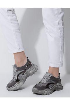 Chaussures De Sport Crash Argenté(119069201)