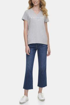 Dkny Jeans Hologram Logolu T-Shirt(124438261)