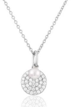 Collier Perle De Nuit Collier en Argent 925/1000 et Perle Blanche Femme(98725880)
