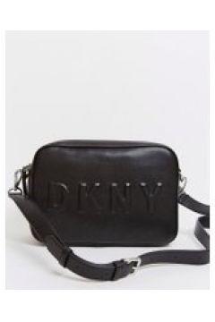 DKNY - Camera bag nera con luogo in rilievo-Nero(120397682)