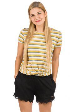 O\'Neill Leona Stripe T-Shirt green aop w/ brown(113744844)