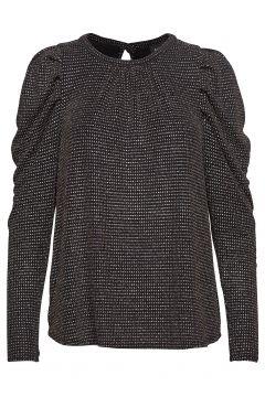 Ravn * Boozt Glimmer Shirt Exclusive Bluse Langärmlig Schwarz RAVN(114153552)