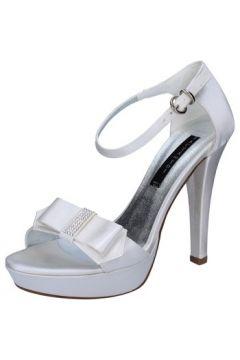 Sandales Bacta De Toi sandales blanc satin strass BY96(115400888)