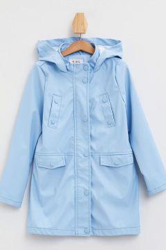 DeFacto Kız Çocuk Kapüşonlu Cep Detaylı Yağmurluk(119060739)