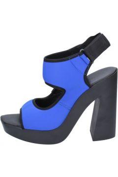 Sandales Vic sandales bleu textile BT271(115442769)