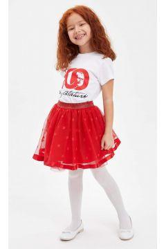 DeFacto Kız Çocuk Yıldız Desenli Tütü Etek(119060105)