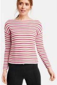 Sweter w modne paski Multicolor 44/L(115897166)
