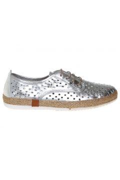 Penford Kadın Deri Gümüş Düz Ayakkabı(113969046)
