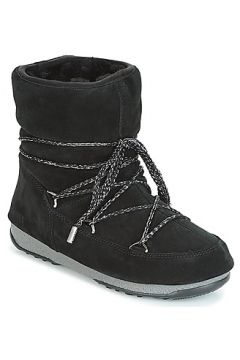 Bottes neige Moon Boot LOW SUEDE WP(115408507)