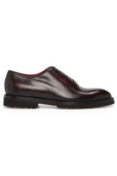 Barrett Erkek Kahverengi Deri Ayakkabı Bordo 0 US(118330360)