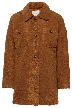 Pzteddy Jacket Outerwear Faux Fur Braun PULZ JEANS(114151668)