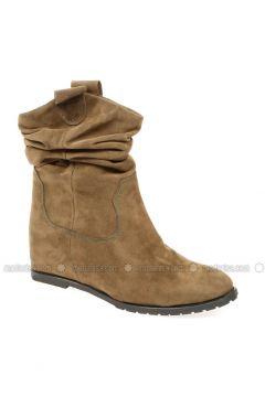 Khaki - Boot - Boots - Pembe Potin(110313790)