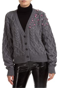 Women's cardigan sweater(126469004)
