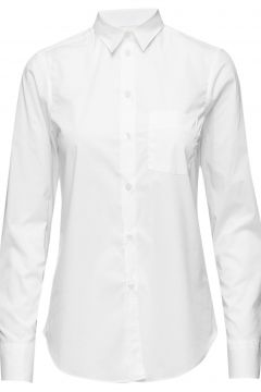 Classic Stretch Shirt Langärmliges Hemd Weiß FILIPPA K(116365609)