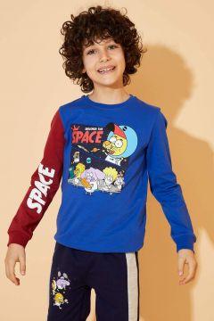 DeFacto Erkek Çocuk Kral Şakir Lisanslı Sweatshirt(119060877)