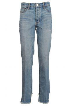 Damen gerade strechthose jeans(118073392)