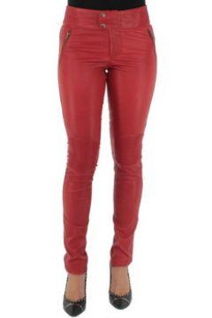 Pantalon Pallas Cuir Pantalon sélection en cuir ref_sof37618-rouge(98734542)