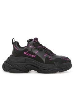 Balenciaga Kadın Triple S Siyah Logo Baskılı Sneaker 36 EU(120084228)