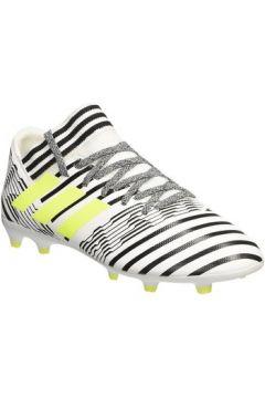 Chaussures de foot enfant adidas Nemeziz 17.3 Fg J Scarpini Bianchi(115476746)