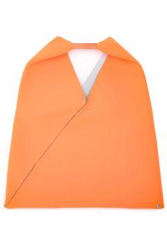 Sac à main Mm6 Maison Margiela Sac shopper en néoprène orange(98495060)