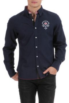 Chemise Ruckfield Chemise manches longues bleue US rugby(115475890)