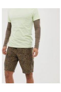 Levi\'s - Cargo-Shorts in Beige mit Gepardenmuster bedruckt - Beige(86707225)