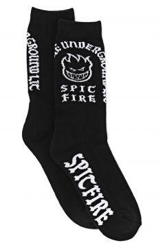Fashion Socks Spitfire Steady Rockin\' - Black White(115690495)
