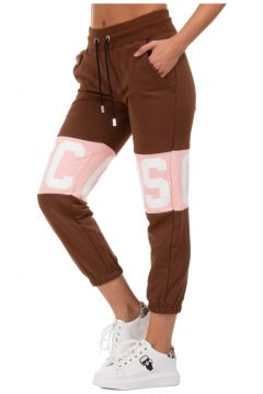 Women's sport tracksuit trousers logo band(123053691)