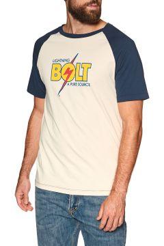 Lightning Bolt Heyday Kurzarm-T-Shirt - Dress Blue(100273983)