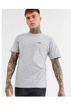 Vans - Graues T-Shirt mit kleinem Logo - Grau(94964998)