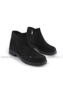 Black - Boot - Boots - İnan Ayakkabı(110336830)