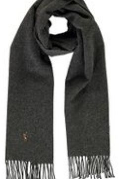 Polo Ralph Lauren Sign It Wool Scarf - Charcoal 002(100528436)