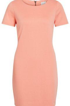 VILA Simple Robe À Manches Courtes Women pink(109179340)