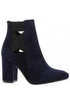 Bottines Nuova Riviera Boots cuir velours(115611732)